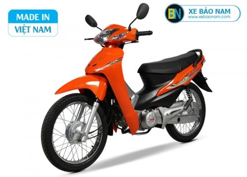 Xe máy Wave 50cc Dealim màu cam