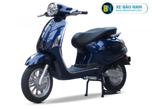 Xe máy điện Vespa Lima 2019 màu xanh 2 phanh đĩa