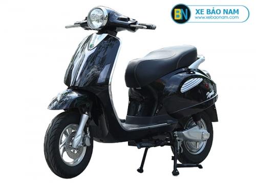 Xe máy điện Vespa Xyndi màu đen
