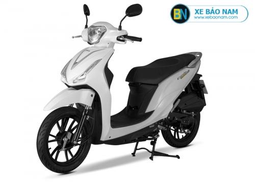 Xe máy Kymco Candy Hermosa 50cc màu trắng