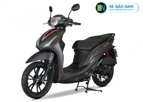 Xe máy Kymco Candy Hermosa 50cc màu đen nhám