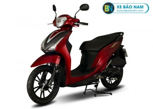Xe máy Kymco 50cc Candy Hermosa màu đỏ
