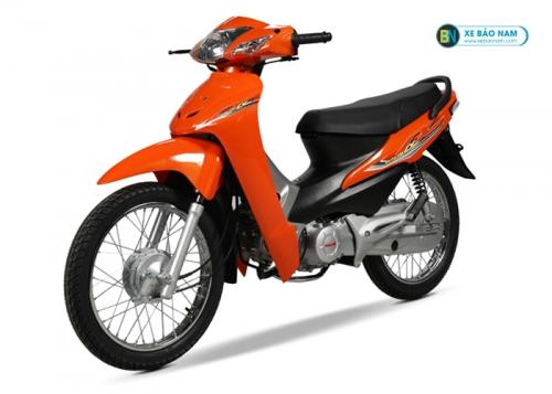 Xe máy Wave 50cc Màu Cam 2019