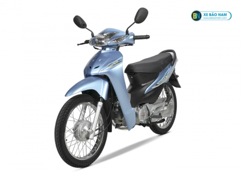 Xe máy Wave 50cc màu Xanh Nước Biển