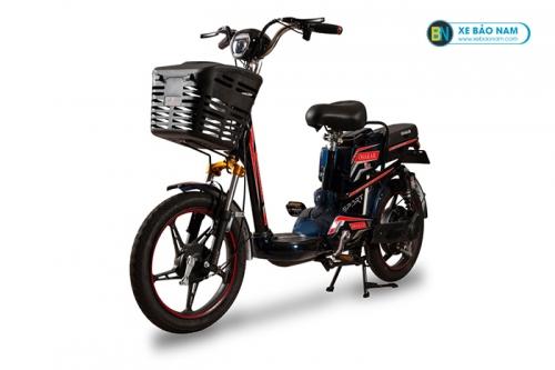 Xe đạp điện Osakar A9 màu đen tem xanh đỏ