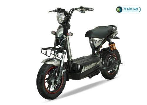 Xe máy điện Osakar S8 Sport màu xám