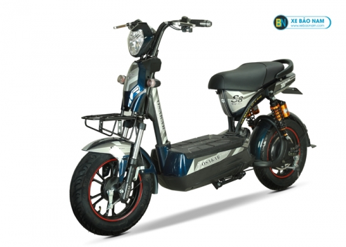 Xe máy điện Osakar S8 sport màu đỏ xanh xám