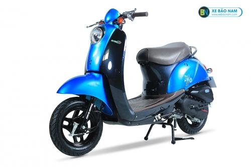 Xe ga 50cc Scoopy màu Xanh Dương