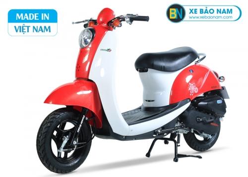 Xe ga 50cc Scoopy Màu Đỏ Trắng NEW