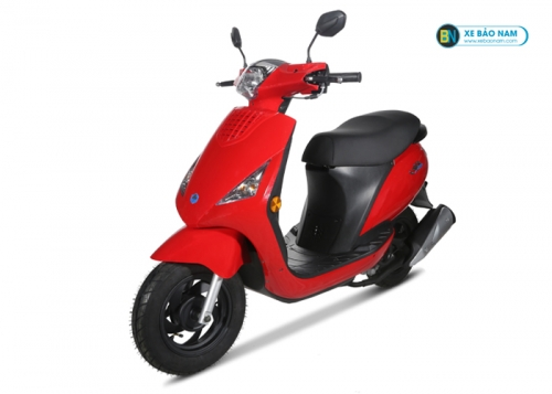 Xe ga Zipi 50cc đời mới màu đỏ