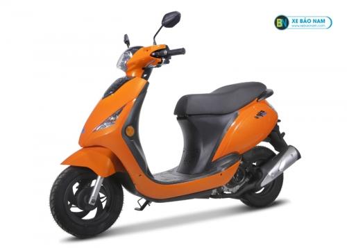 Xe ga Zipi 50cc đời mới màu vàng cam