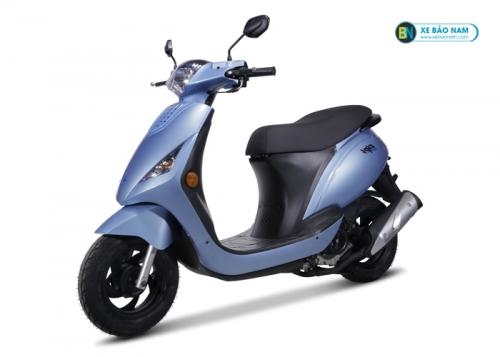 Xe ga Zipi 50cc đời mới màu xanh đá