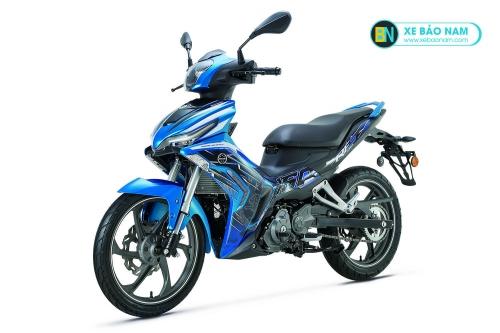 Xe máy Benelli RFS 150i màu xanh