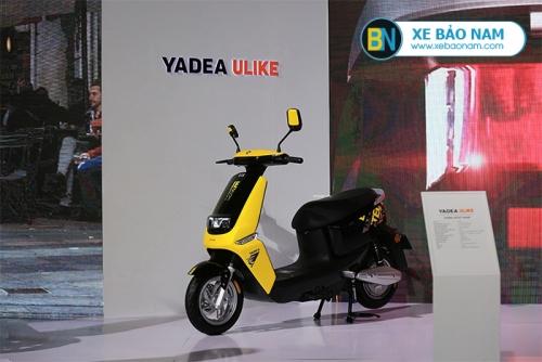 Xe máy điện YADEA ULIKE màu vàng MỚI NHẤT 2019