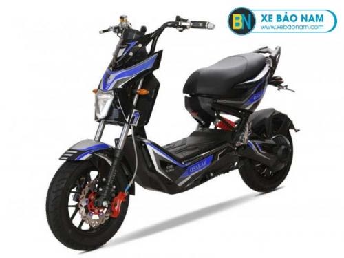 Xe máy điện Osakar One 1 Xmen màu đen tem xanh