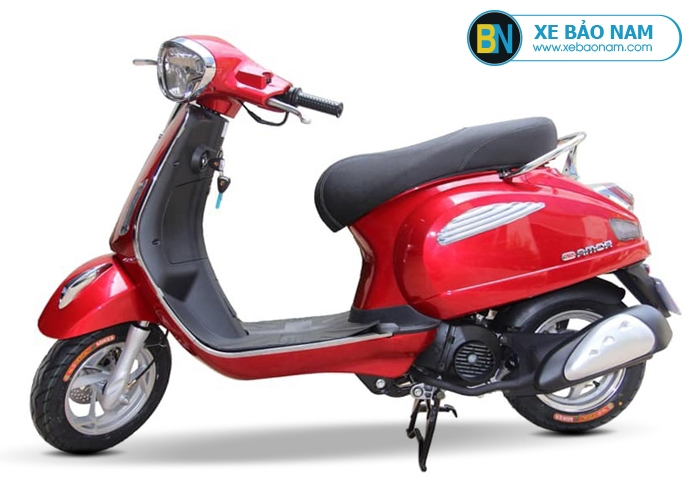 Xe ga 50cc Roma SE Dk bike màu đỏ