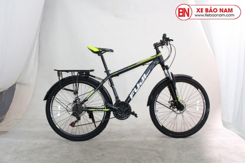 Xe đạp Fuji XT780 2020 màu đen xanh ( Có chắn bùn )