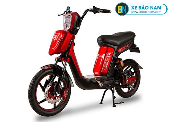 Xe đạp điện Cap A Alpha Osakar màu đỏ
