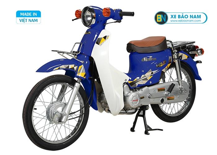 Xe Cub 81 Halim 2019 màu xanh cửu long