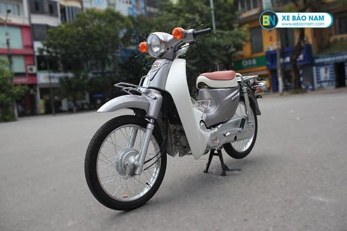 Xe Cub Halim 50cc màu bạc