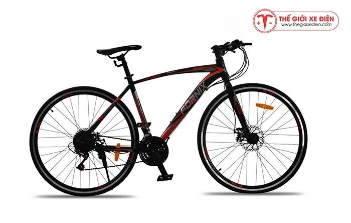 Xe đạp thể thao Fornix FR303 Mới nhất màu đỏ đen