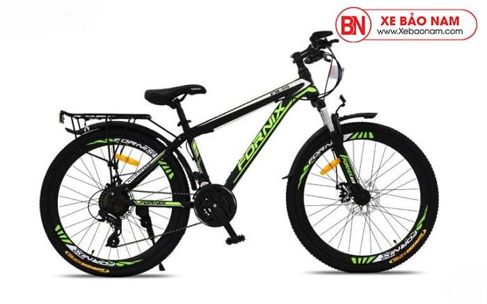 Xe đạp thể thao Fornix FM26 Mới nhất màu đen lá cây