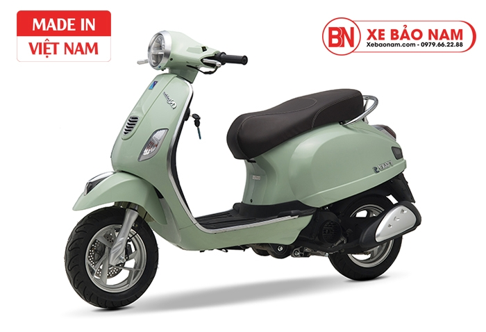Xe ga 50cc Nio S chính hãng Nioshima Xanh Ngọc