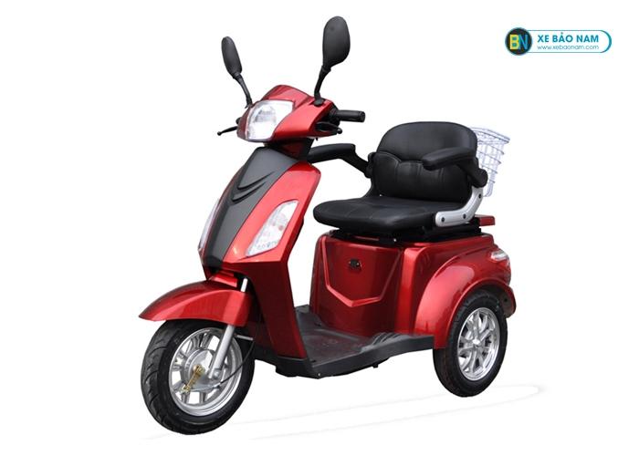 Xe điện 3 bánh Emoto màu đỏ