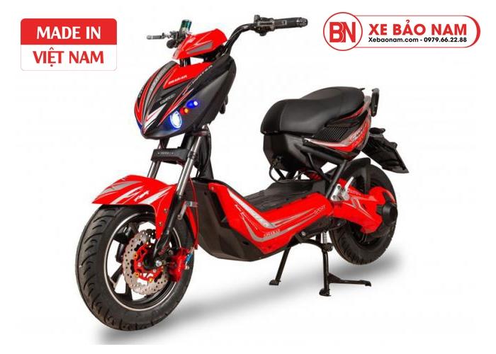 Xe máy điện Xmen Hunter Osakar màu đỏ
