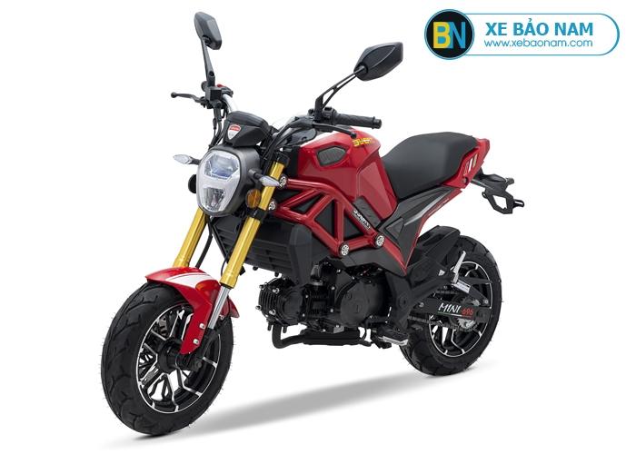 Xe máy Ducati Monster Mini 110 2 bản Lazăng thể thao