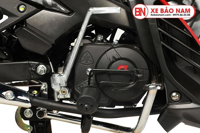 Xe máy Exciter 50cc màu đỏ đen