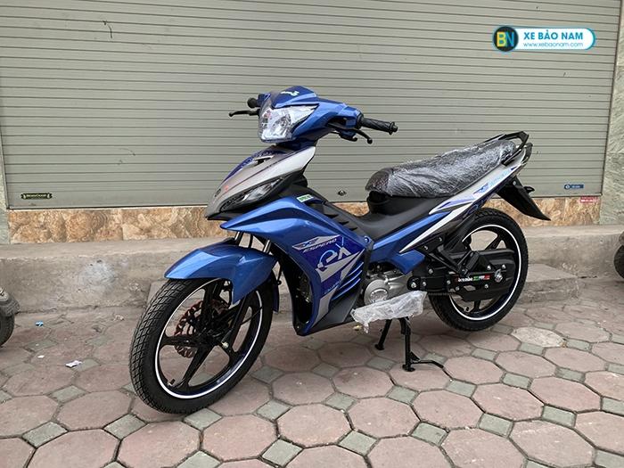 Xe máy Exciter 50cc Côn Tay 2019 màu xanh