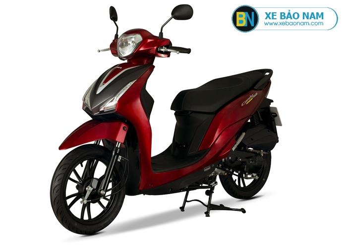 Xe máy KYmco Candy Hermosa 50cc màu đỏ