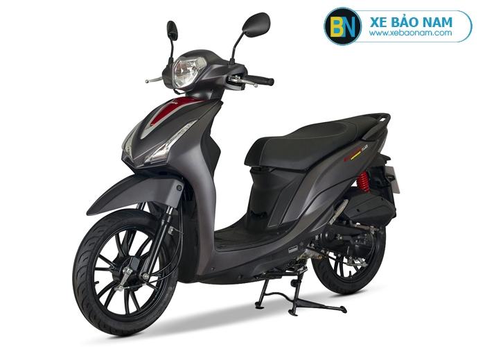 Xe máy Candy Hermosa 50cc màu đen nhám