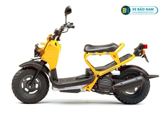 Xe ga honda Zoomer 50cc màu vàng