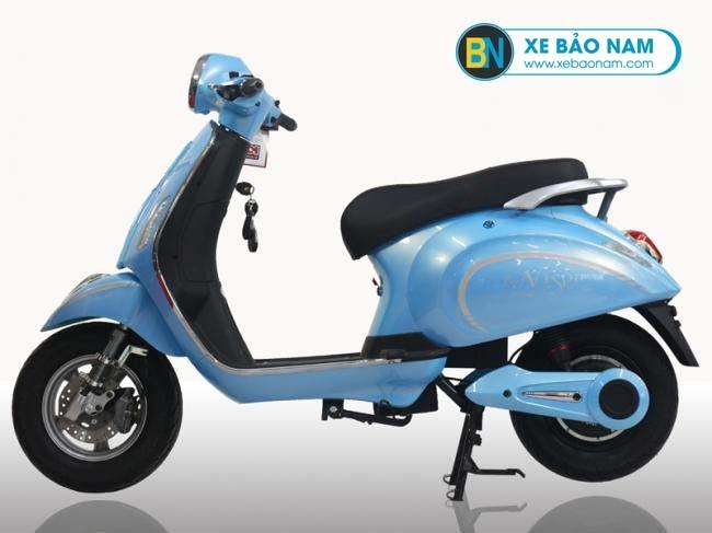 Xe máy điện Vespa Osakar Nispa màu xanh dương