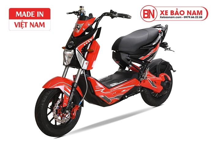 Xe máy điện Xmen Kuhama màu đỏ