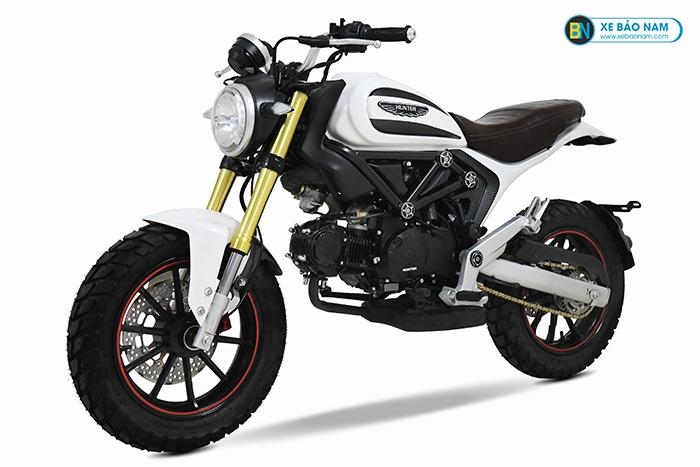 Xe Máy Ducati Scrambler 110cc màu trắng