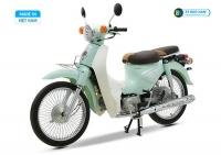 Xe cub New 50 màu xanh ngọc