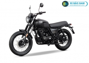 Xe Brixton Scrambler BX125X màu đen