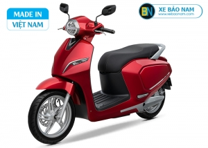 Xe máy điện Vinfast Klara màu đỏ (Pin Lithium)