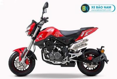 Xe máy Benelli TNT 125 màu đỏ