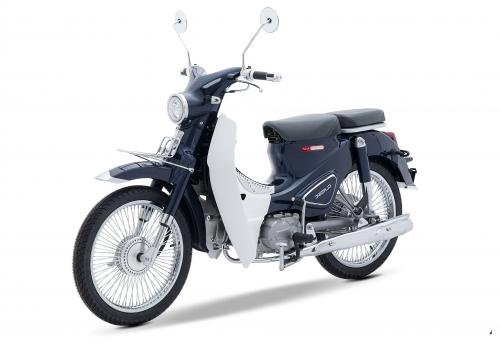 Xe máy Cub Classic 50cc màu đen 2019
