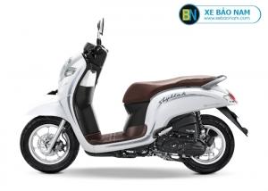 Xe ga Scoopy 110cc màu trắng
