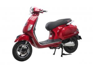 Xe ga 50cc Pansy X Dibao màu đỏ đen