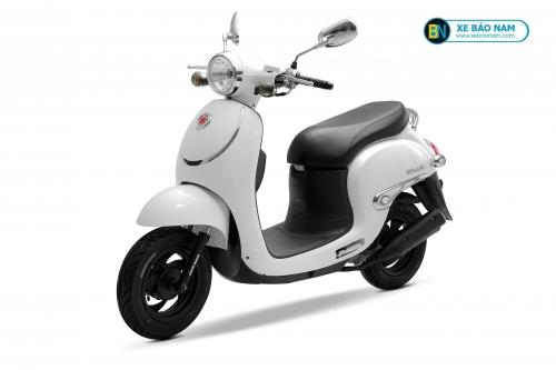 Xe ga 50cc Giorno Smile màu trắng đời mới 2019