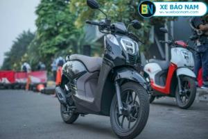 Xe máy Honda Genio 110cc màu xám