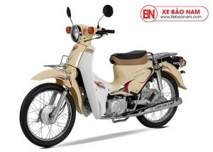 Xe Cub Halim 50cc 2020 màu kem
