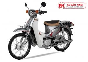 Xe Cub Halim 50cc 2020 màu bạc