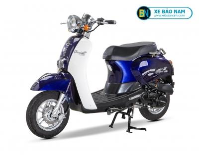 Xe ga 50cc Crea Việt Thái Màu Xanh Cửu Long